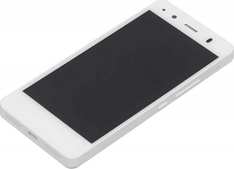 Смартфон BQ Aquaris A4.5 16ГБ белый - фото 4