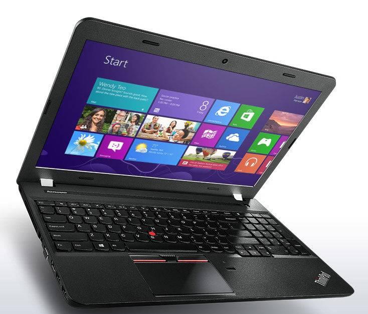 "Ноутбук 15.6"" Lenovo ThinkPad Edge E550 черный - фото 2"