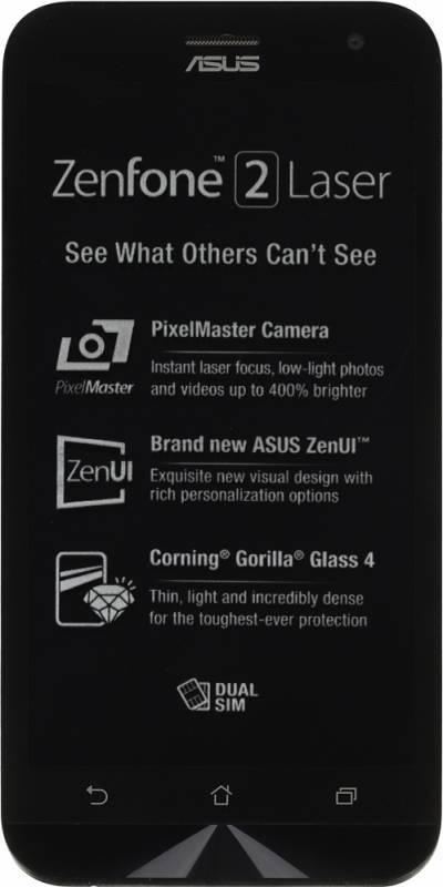 Смартфон Asus ZenFone 2 Laser ZE500KL 32ГБ белый - фото 1