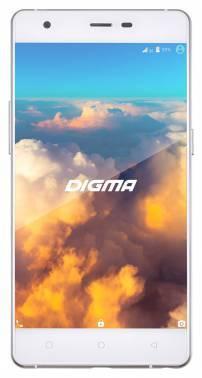 Смартфон Digma S503 4G VOX 16ГБ белый / серебристый