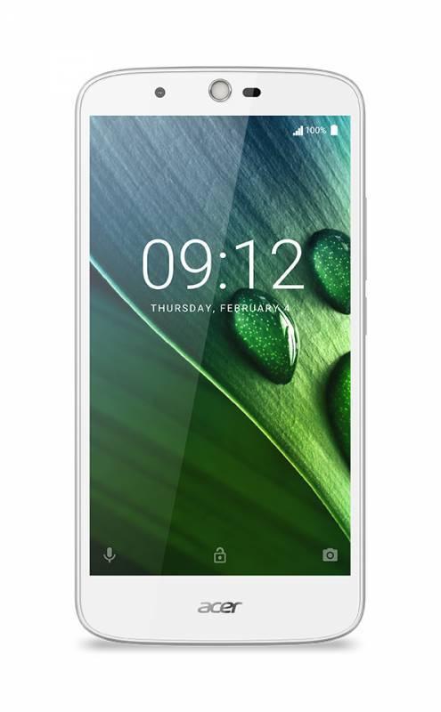 Смартфон Acer Liquid Zest Plus Z628 16ГБ белый - фото 1