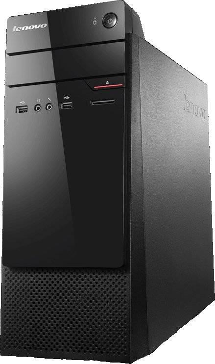 Системный блок Lenovo S200 черный - фото 1