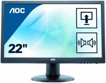 """Монитор 21.5"""" AOC Professional E2275PWQU черный"""