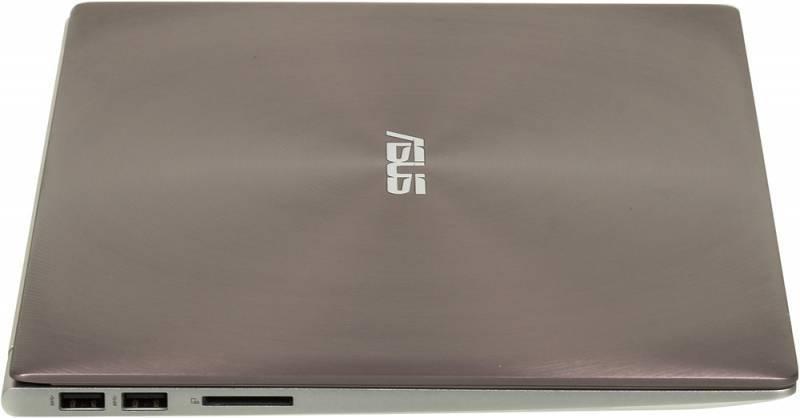 """Ноутбук 13.3"""" Asus Zenbook UX303UA-R4260T коричневый - фото 4"""