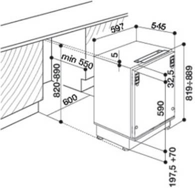 Холодильник Whirlpool ARG 590/A+ белый - фото 2