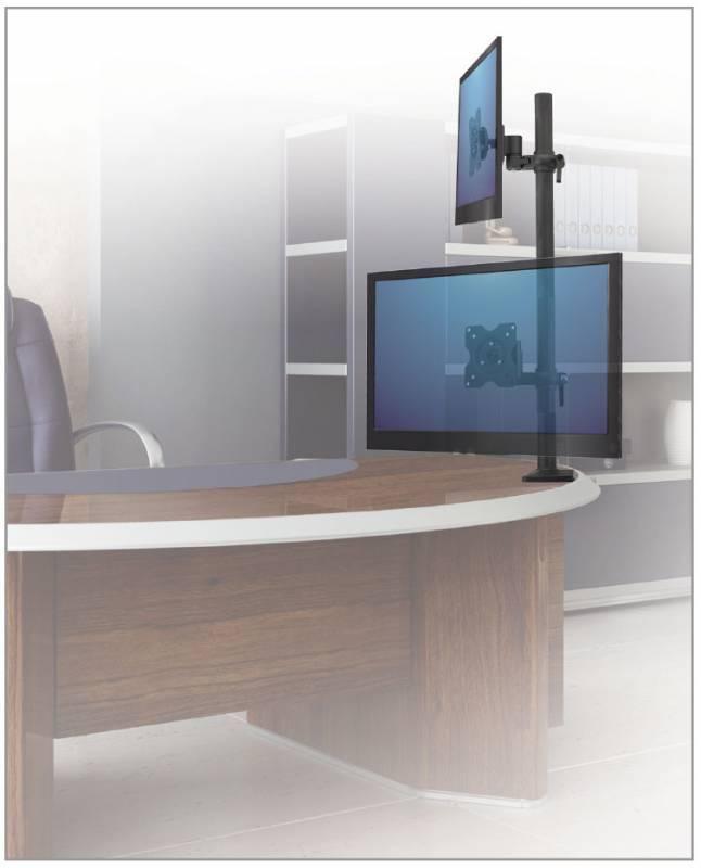 Кронштейн для мониторов ЖК Kromax OFFICE-5 серый - фото 5