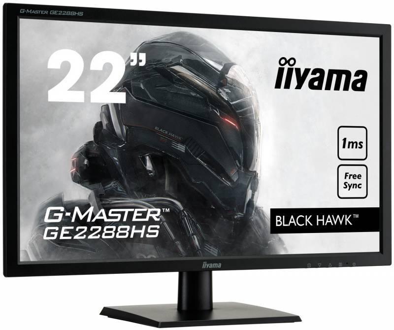 """Монитор 21.5"""" Iiyama GE2288HS-B1 черный - фото 2"""