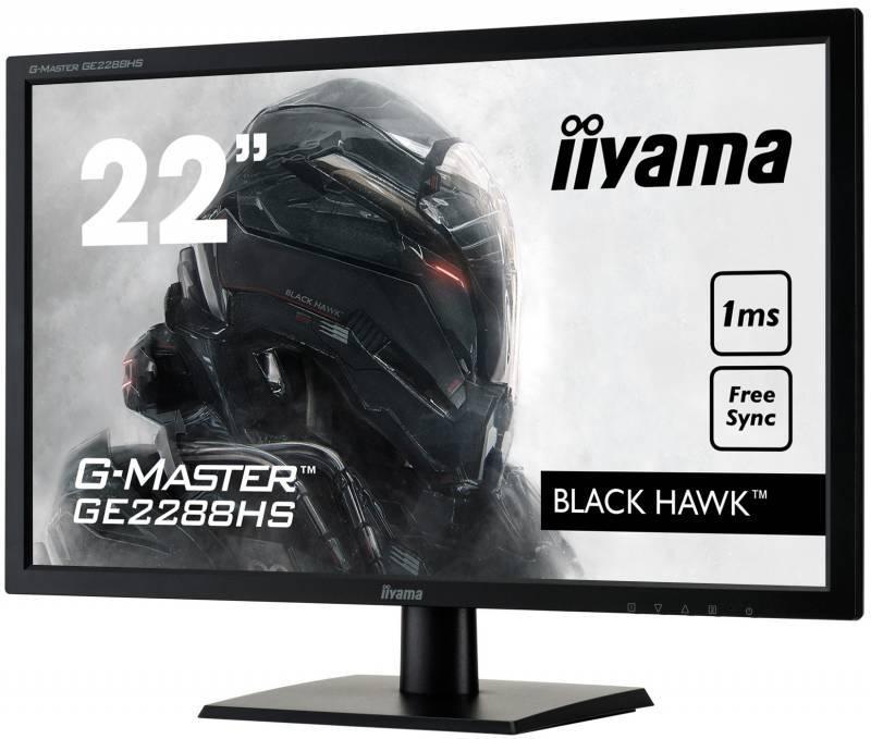 """Монитор 21.5"""" Iiyama GE2288HS-B1 черный - фото 3"""
