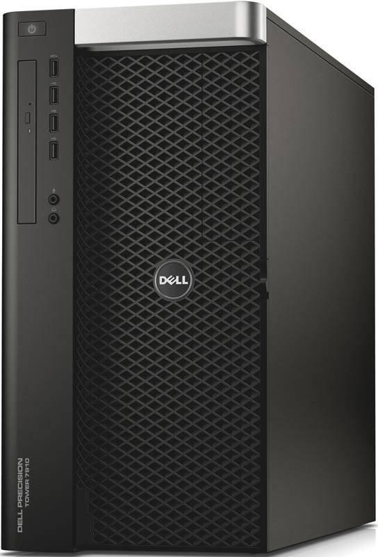 Рабочая станция Dell Precision T7910 черный/серебристый - фото 1