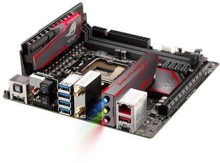 Материнская плата Soc-1151 Asus MAXIMUS VIII IMPACT mini-ITX - фото 2