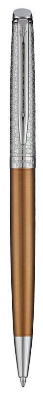 Ручка шариковая Waterman Hemisphere Deluxe Privee (1971620) Bronze CT - фото 1