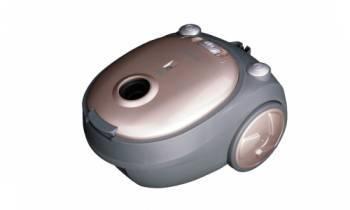 Пылесос Shivaki SVC-1438GLD бежевый, мощность 1400Вт, уборка: сухая, объем пылесборника 2.5л, мощность всасывания 200Вт, регулировка мощности на корпусе, длина шнура 4.5м