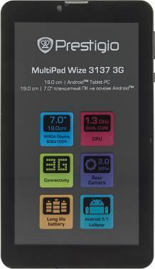 Планшет 7 Prestigio MultiPad PMT3137_3G 8ГБ черный