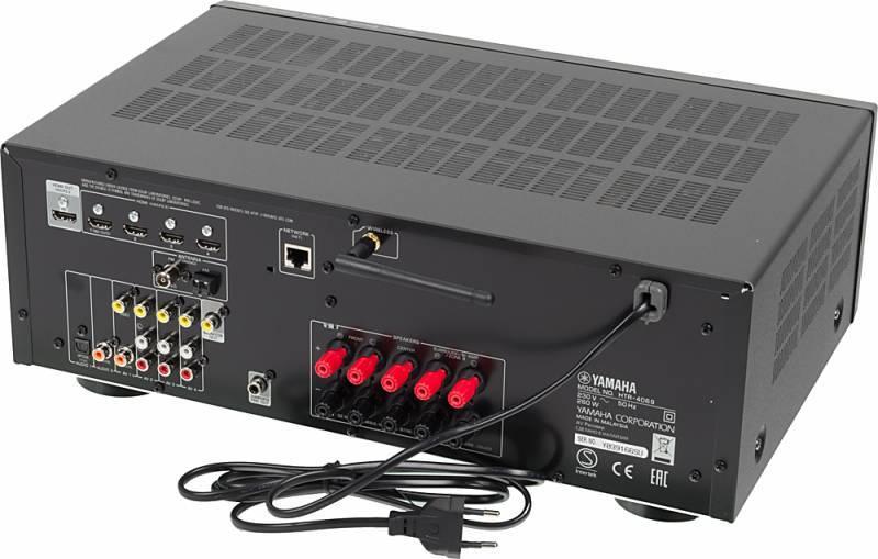 Ресивер AV Yamaha HTR-4069 5.1 черный - фото 3