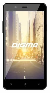 Смартфон Digma CITI Z540 4G 8Gb черный моноблок 3G 4G 2Sim 5 854x480 Android 5.1 5Mpix WiFi BT GPS GSM900/1800 GSM1900 TouchSc MP3 VidConf microSD max32Gb (VS4001PG)