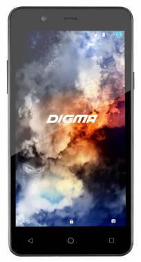 Смартфон Digma LINX A501 4G черный, встроенная память 8Gb, дисплей 5 854x480, Android 5.1, камера 5Mpix, поддержка 3G, 4G, 2Sim, WiFi, BT, GPS, microSDHC до 128Gb (LT5010PL)