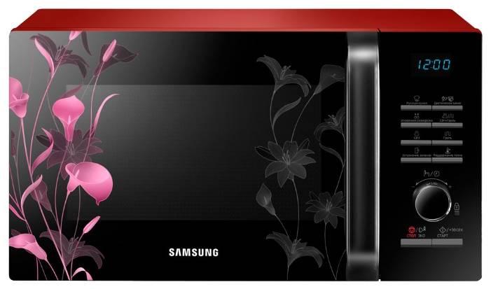 СВЧ-печь Samsung MG23H3115FR черный - фото 1