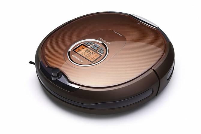 Робот-пылесос Redmond RV-R400 черный/медный - фото 2