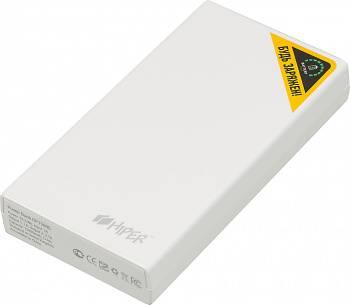 Мобильный аккумулятор HIPER RP15000 белый (RP15000 WHITE)
