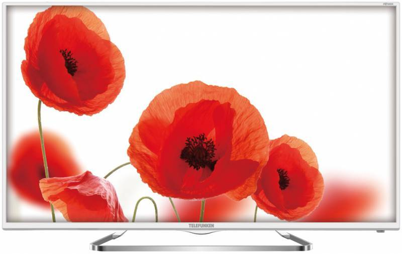 "Телевизор LED 31.5"" Telefunken TF-LED32S38T2 белый - фото 1"