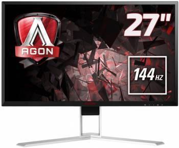 """Монитор 27"""" AOC Gaming AG271QG черный/красный"""
