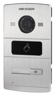 Видеопанель Hikvision DS-KV8102-IM серебристый