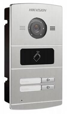 Видеопанель Hikvision DS-KV8202-IM серебристый