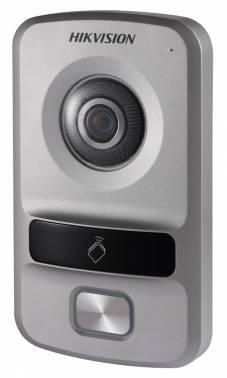 Видеопанель Hikvision DS-KV8102-IP серебристый