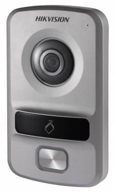 Видеопанель Hikvision DS-KV8102-VP серебристый