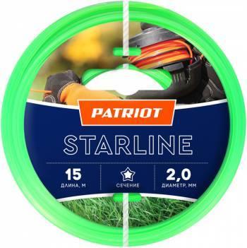 Леска для садовых триммеров Patriot Starline