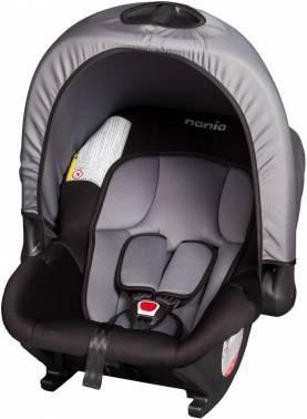 Автокресло детское Nania Baby Ride ECO (rock grey) серый / черный