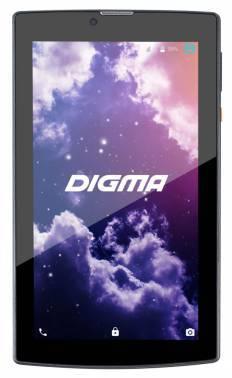 Планшет Digma Plane 7007 3G MT8321 (1.3) 4C/RAM1Gb/ROM16Gb 7 IPS 1024x600/3G/WiFi/2Mpix/0.3Mpix/GPS/Android 5.1/черный/Touch/microSD 32Gb/minUSB/2800mAh (PS7054MG / PS7054MG)