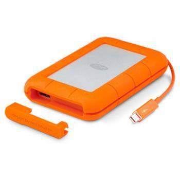Внешний жесткий диск 1Tb Lacie STEV1000400 Rugged V2 оранжевый USB 3.0