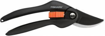 Секатор плоскостной Fiskars SingleStep P26 черный/оранжевый (1000567)
