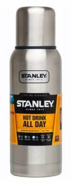 Термос Stanley Adventure серебристый (10-01562-017)