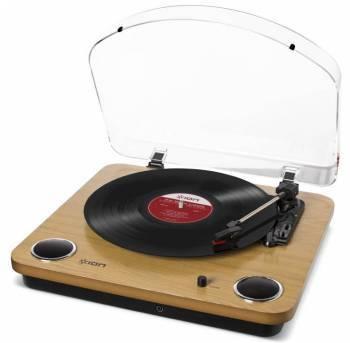 Виниловый проигрыватель ION Audio MAX LP орех