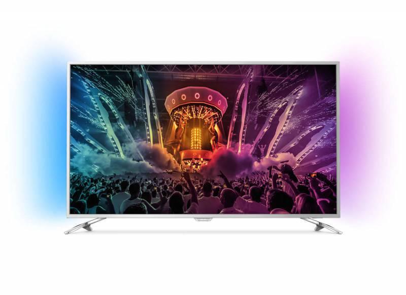 """Телевизор LED 43"""" Philips 43PUS6501/60 серебристый - фото 1"""