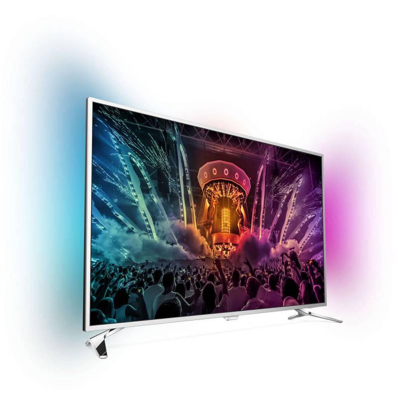"""Телевизор LED 43"""" Philips 43PUS6501/60 серебристый - фото 2"""