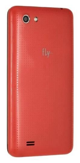 Смартфон Fly Stratus 4 FS405 4ГБ красный - фото 3