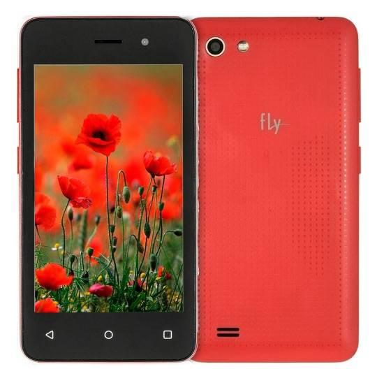 Смартфон Fly Stratus 4 FS405 4ГБ красный - фото 5