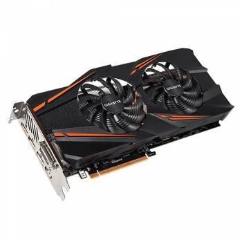 Видеокарта Gigabyte GeForce GTX 1070 8192 МБ (GV-N1070WF2OC-8GD)