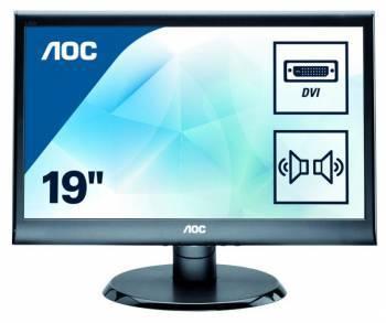 """Монитор 18.5"""" AOC Professional E975SWDA(00/01) черный"""