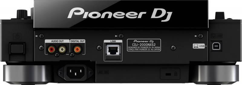 Микшерный пульт Pioneer CDJ-2000NXS2 - фото 3