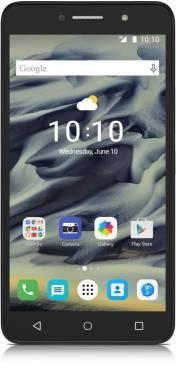 Смартфон Alcatel 9001D Pixi 4(6) серебристый, встроенная память 16Gb, дисплей 6 1280x720, Android 6.0, камера 8Mpix, поддержка 3G, 4G, 2Sim, 802.11bgn, BT, GPS, microSD до 64Gb (9001D-2BALRU1)