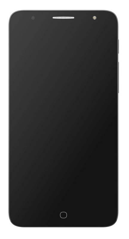 Смартфон Alcatel Pop 4 Plus 5056D 16ГБ темно-серый - фото 1