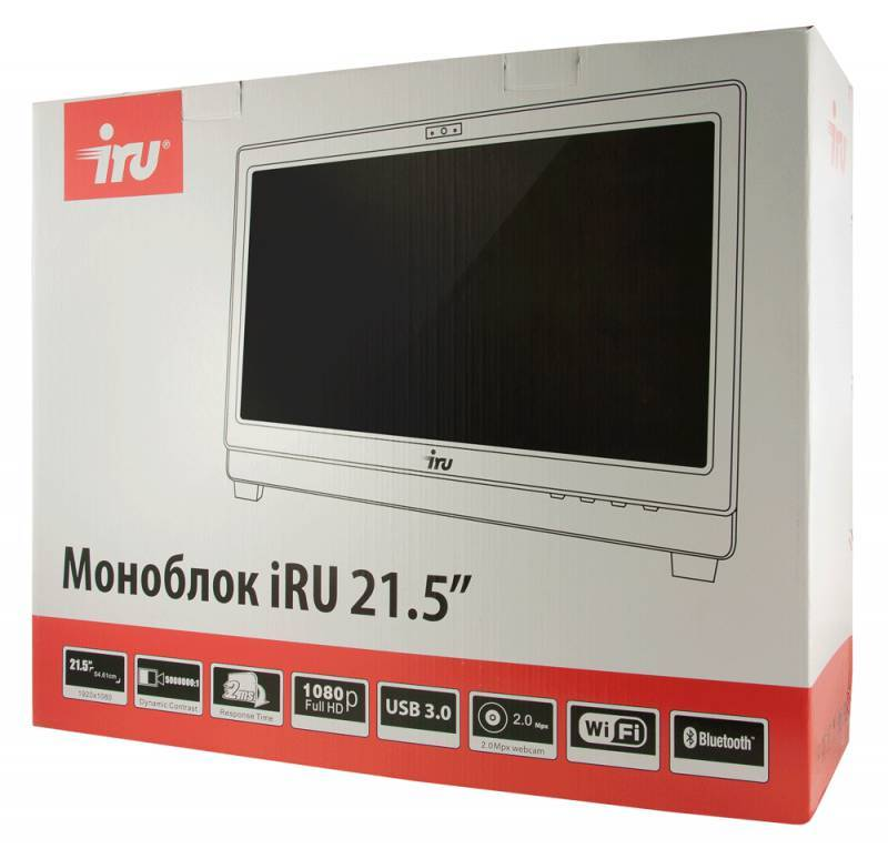 "Моноблок 21.5"" IRU Office K2101 черный - фото 11"