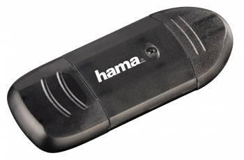 Картридер USB2.0 Hama H-114731 черный