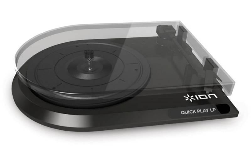Виниловый проигрыватель ION Audio QUICKPLAY LP черный - фото 1