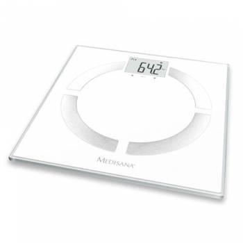 Весы напольные электронные Medisana BS 444 Connect белый (40444)