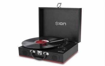 Виниловый проигрыватель ION Audio Transport черный